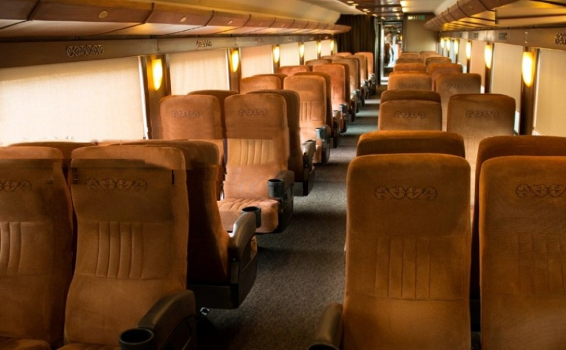 Tequila Express Vagon de Pasajeros Tren