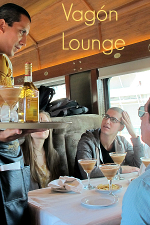 Tequila Express coaches Lounge