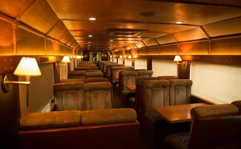 Tequila Express Dining car Train