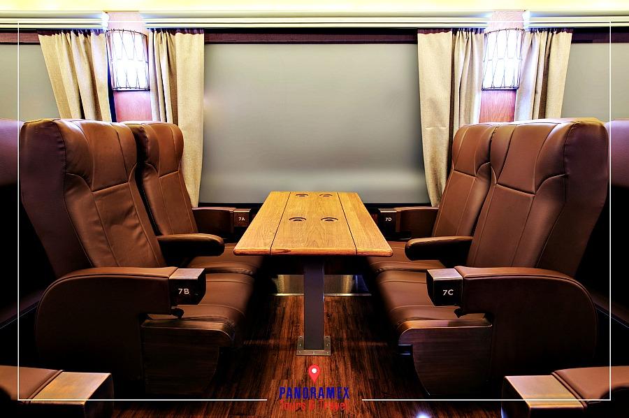 Tequila Herradura Express First Class Dinner Car