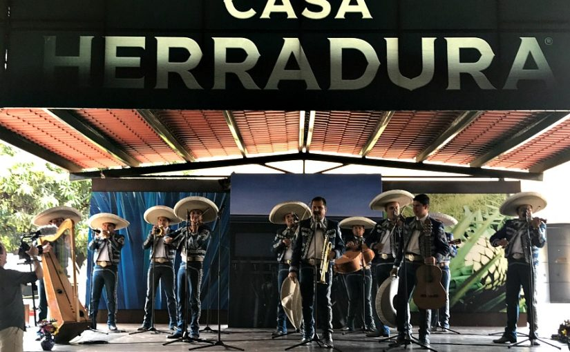 Tequila Herradura Express Train Bar Car