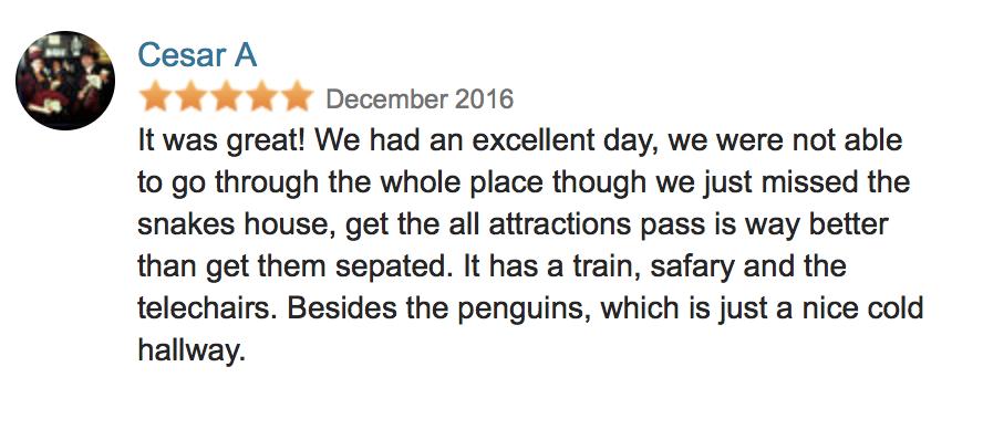 Guadalajara Zoo Review